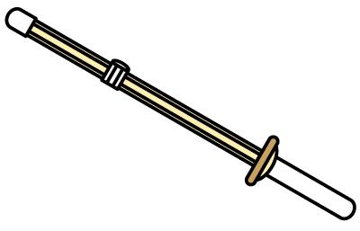 竹刀イラスト