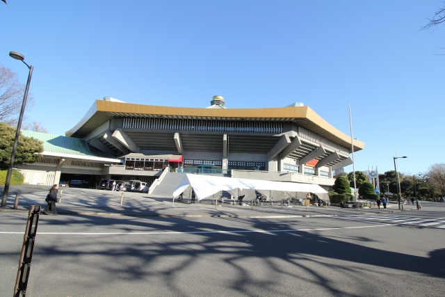 憧れの日本武道館