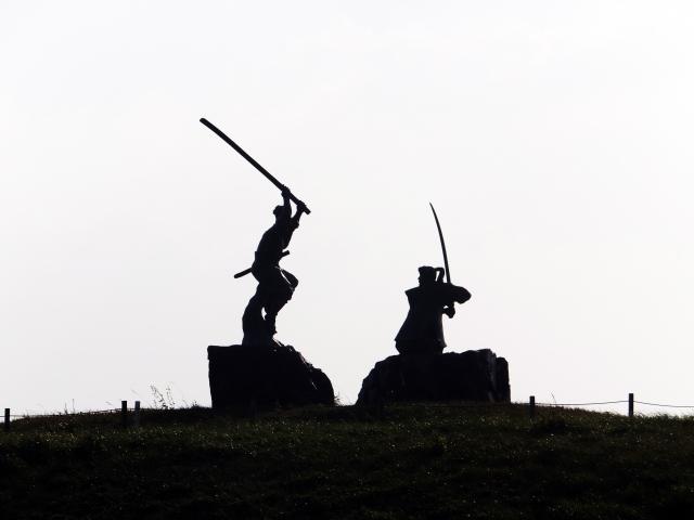 宮本武蔵が「兵法の目付といふ事」と説いている